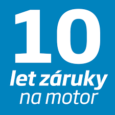 10 let záruky na motor