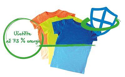 Nižší spotřeba a oblečení jako nové