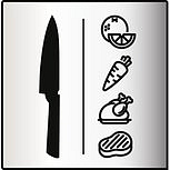 Univerzální kuchařský nůž 16,5cm