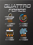 Quatro force technologie pro dokonalou chuť